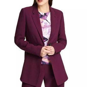 DKNY Women's Mulberry One-Button Blazer